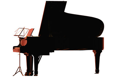 Illustration of Piano Set
