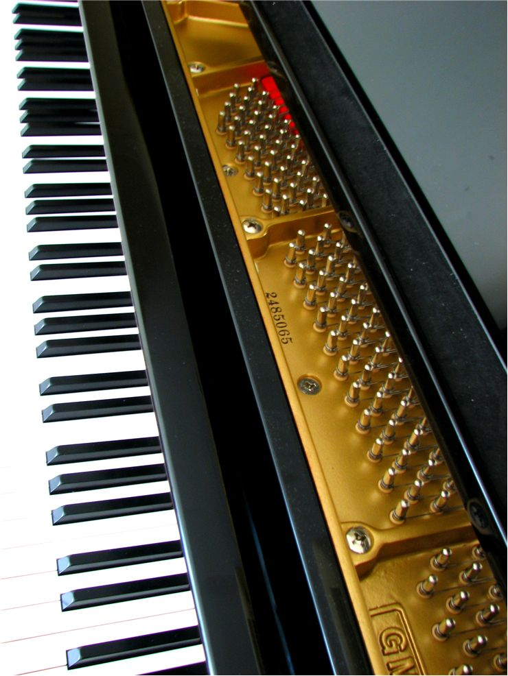 Keys of Grand Piano