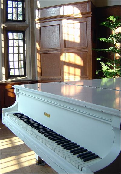 Old Baldwin Piano
