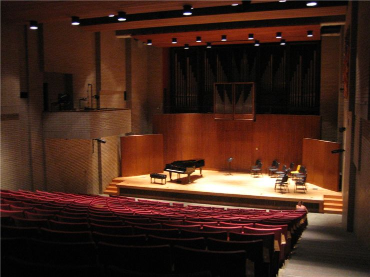 Piano in the Recital Hall