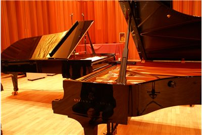 Two Concert Pianos